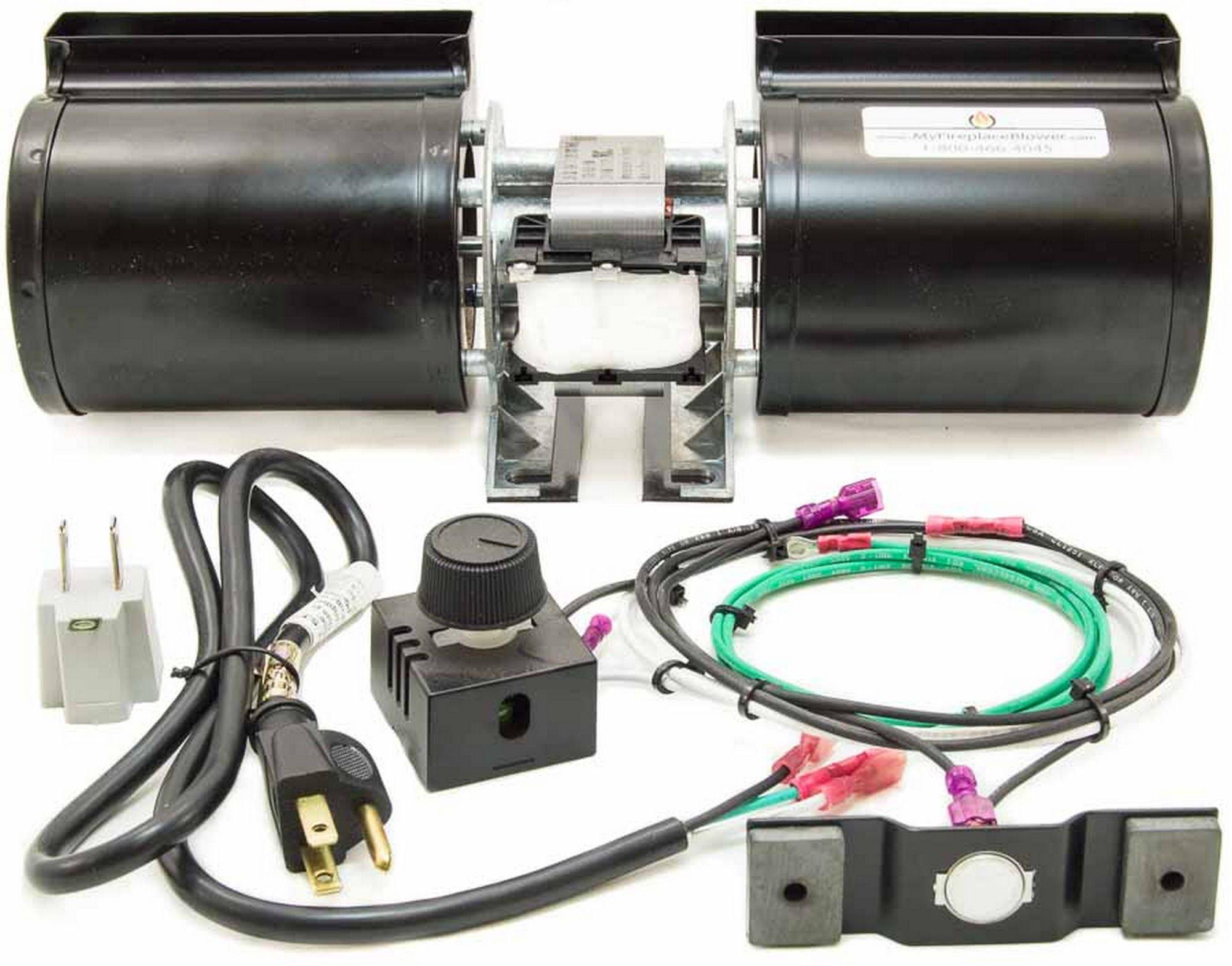 GFK-160A - GFK-160 Fireplace Blower Kit for Heat & GLO - Quadra-Fire by MyFireplaceBlower