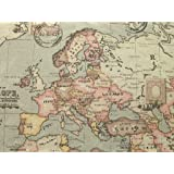 World atlas map on grey cotton curtain fabric 140cm x 1 metre grey atlas world globe map linen look fabric curtain blinds craft quilting a4 sized gumiabroncs Choice Image