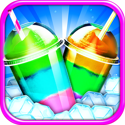 Frozen Icy Slushy Maker - Kids Ice Dessert Cooking Game