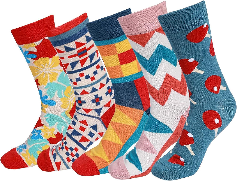 Happy Socks Unisex UK 5-7 Athletic Fancy Socks Various Bright Patterns