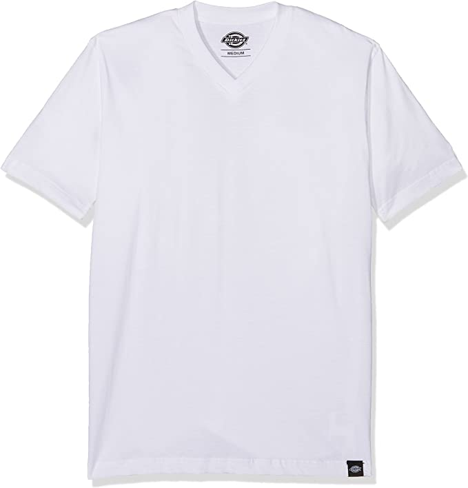 TALLA L. Dickies V Neck Camiseta Manga Corta para Hombre