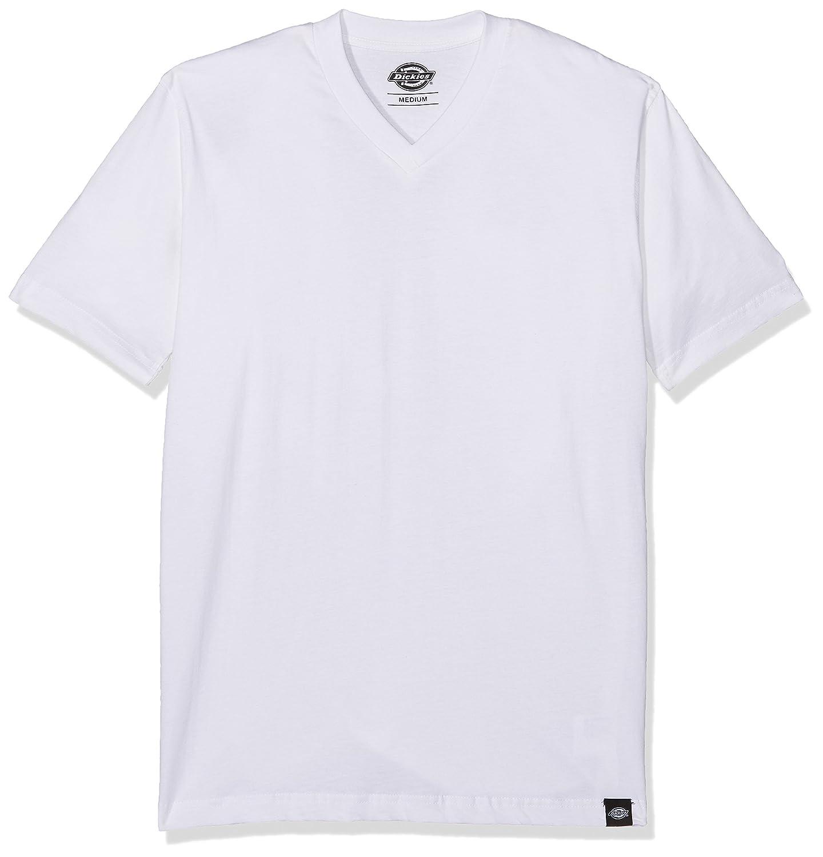 Dickies V Neck Camiseta Manga Corta para Hombre