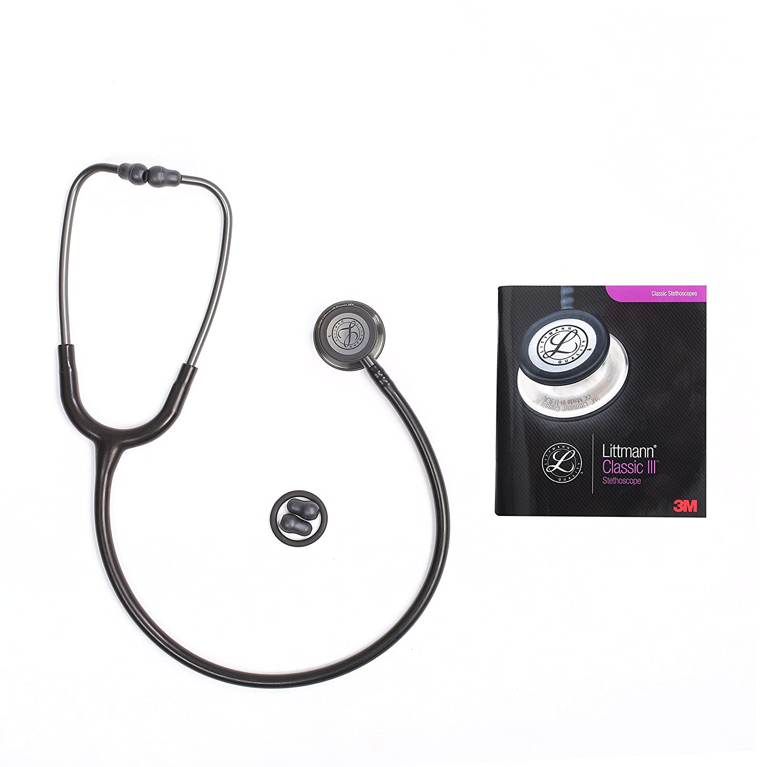 Classic III Stethoscope, for Children and Adult 5620 Black Stainless