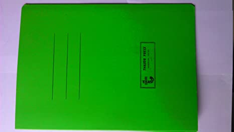 Office Tag File / Office Stationery (5 Pieces, Colour may vary