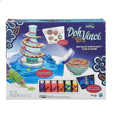 DohVinci Spotlight Spin Studio, Standard Packaging: Toys & Games