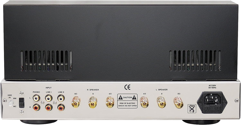 Dynavox VR-70 E II - Amplificador a válvulas para tocadiscos ...