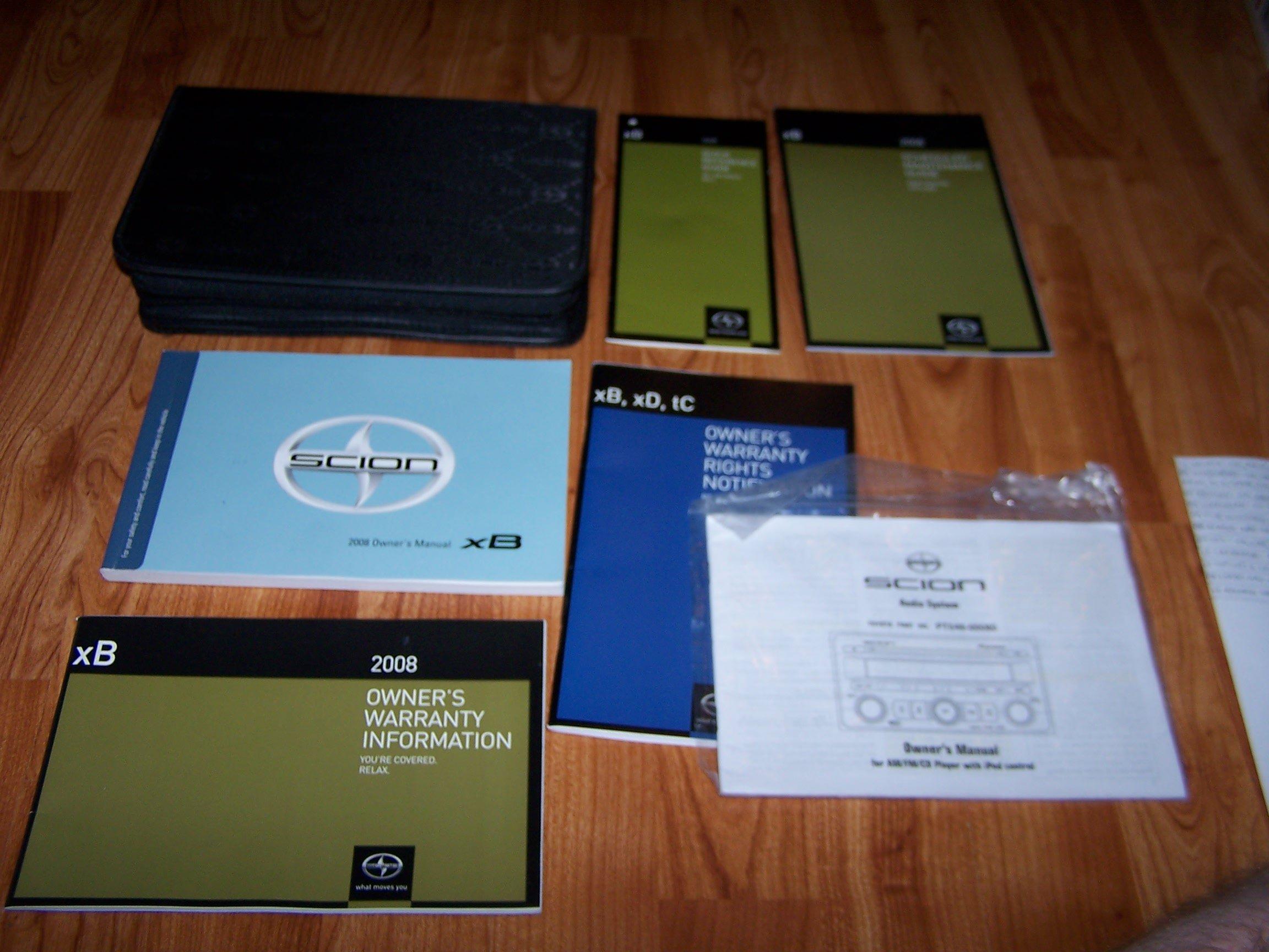 2008 scion xb repair manual