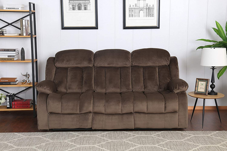 Amazon.com: Sunset Trading Teddy Bear Reclining Sofa ...