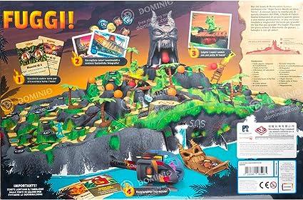 Asmodee- La Isla de Fuego-Juego de Mesa Edición en Italiano (8271 Italia), Color: Amazon.es: Juguetes y juegos
