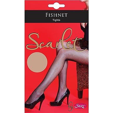31098ac1fb3d6 Silky Scarlet Fishnet Tights, Ladies Women Fishnet Tight Pantyhose Fancy  Tights (Medium (36-42), Natural): Amazon.co.uk: Clothing