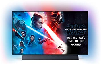 Philips - TV OLED 139 Cm (55)  Philips 55Oled934/12 4K HDR Smart TV, Ambilight Y Android TV con Inteligencia Artificial (IA): Amazon.es: Electrónica