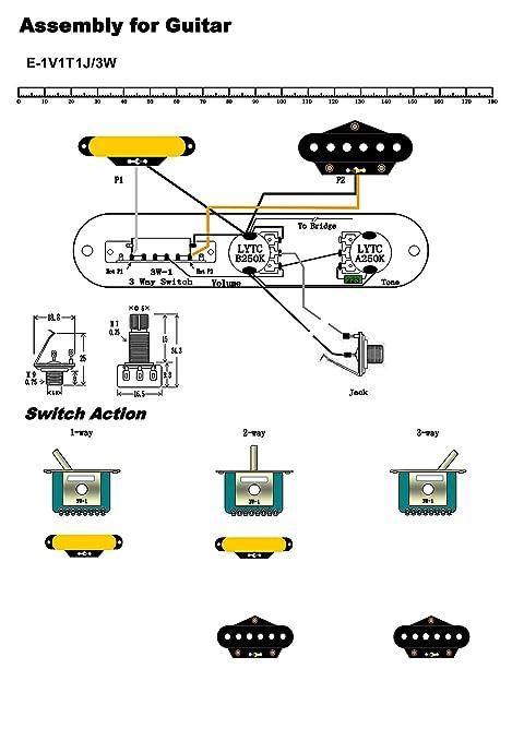 Tolle Verkabelung Gitarre Bilder - Elektrische ...