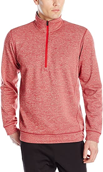 adidas 1/4 zip fleece top