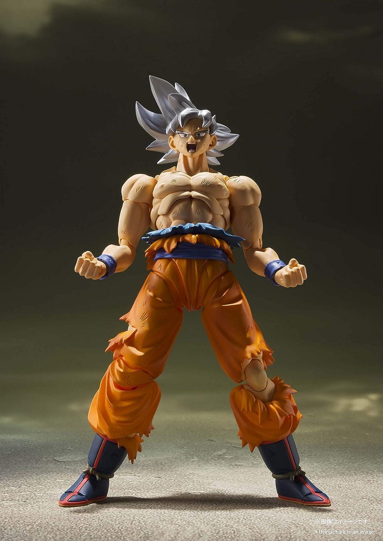 AUTHENTIC Bandai S.H Figuarts Ultra Instinct Son Goku Dragon Ball Super Figure