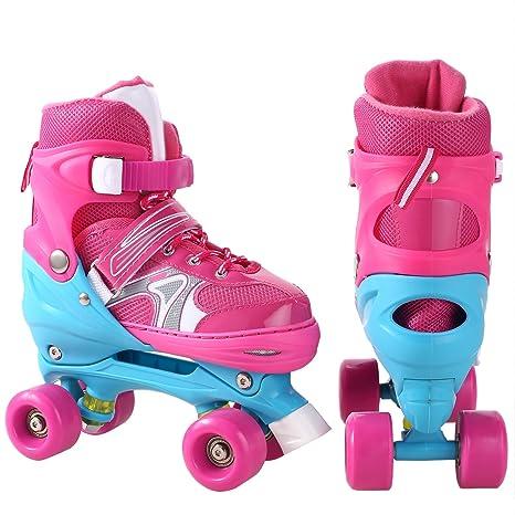 Amazon.com: Patines 2 en 1 para patines de 4 patines ...