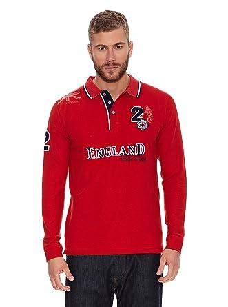 Valecuatro Polo England Rojo 2XL: Amazon.es: Ropa y accesorios