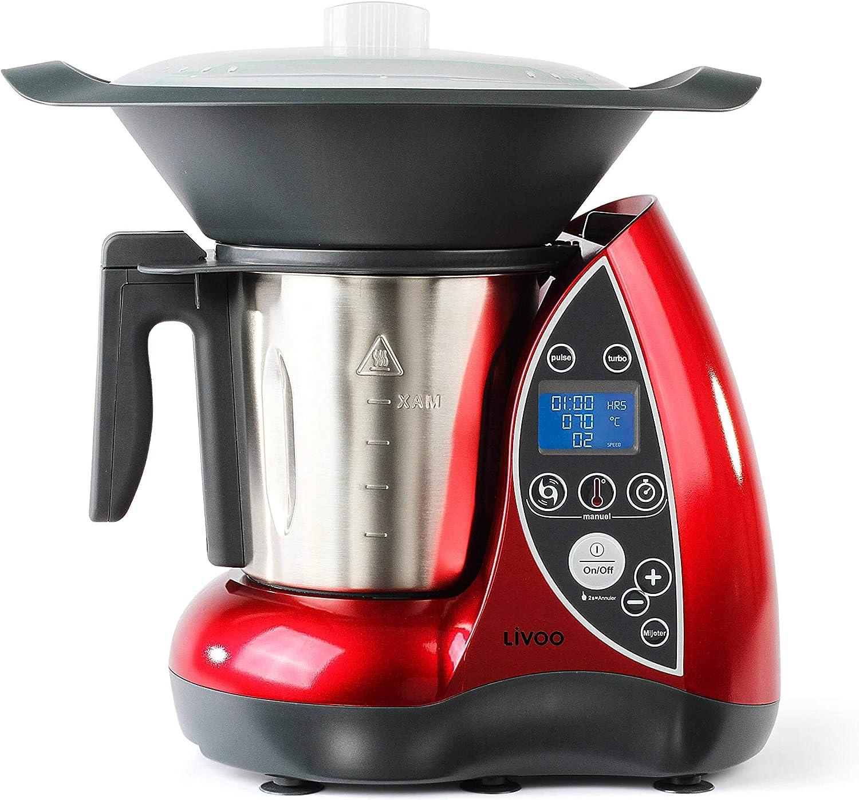 Domoclip Robot De Cocina Rojo: Amazon.es: Hogar