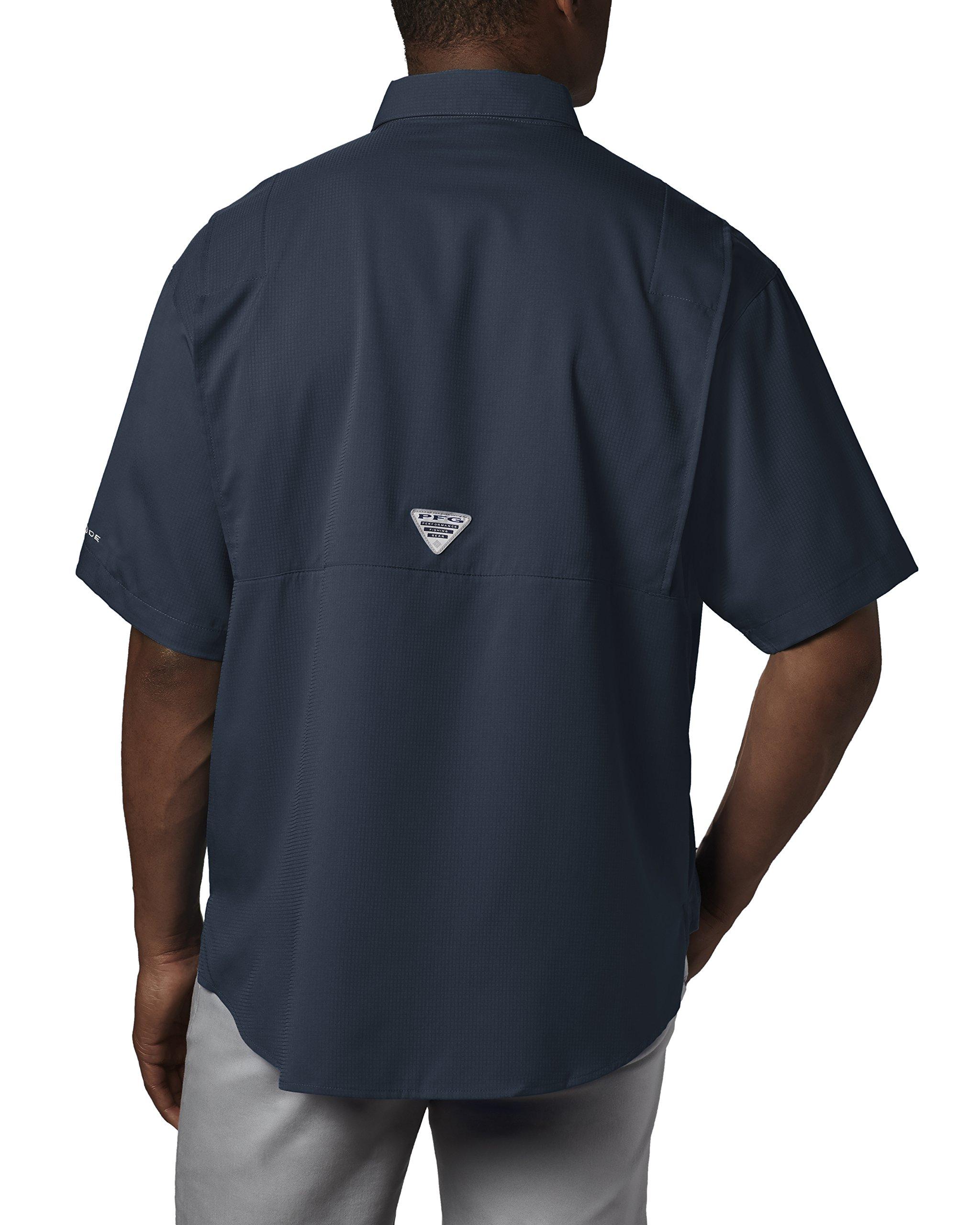 Columbia Men's Tamiami II Short Sleeve Fishing Shirt, Collegiate Navy, X-Small by Columbia (Image #2)