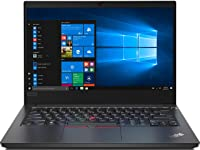 Lenovo ThinkPad E14 Intel Core i3 10th Gen 14-inch Full HD Thin and Light Laptop (4GB RAM/ 1TB HDD/ Windows 10 Home/ Black/ 1.77 kg), 20RAS0SC00