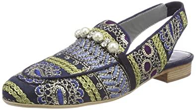 Maripe Damen 26728 Pantoffeln, Blau (Cingara 4), 37 EU