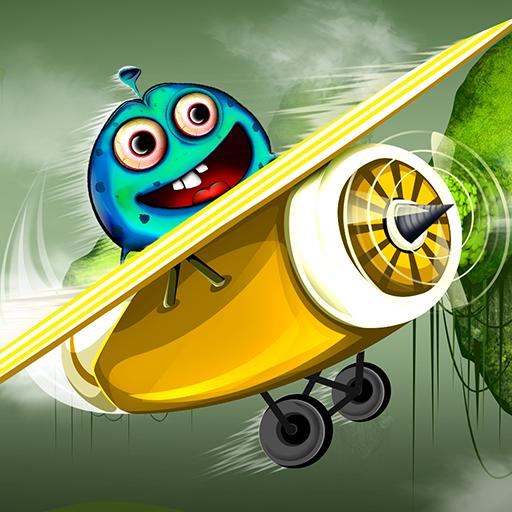 Sky Monster Adventure : The Airport Plane Flight Under Radar - Gold]()