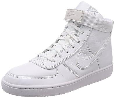 386a85327fe0 Nike Men s Vandal High Supreme LTR White White-White Fashion Shoes ...