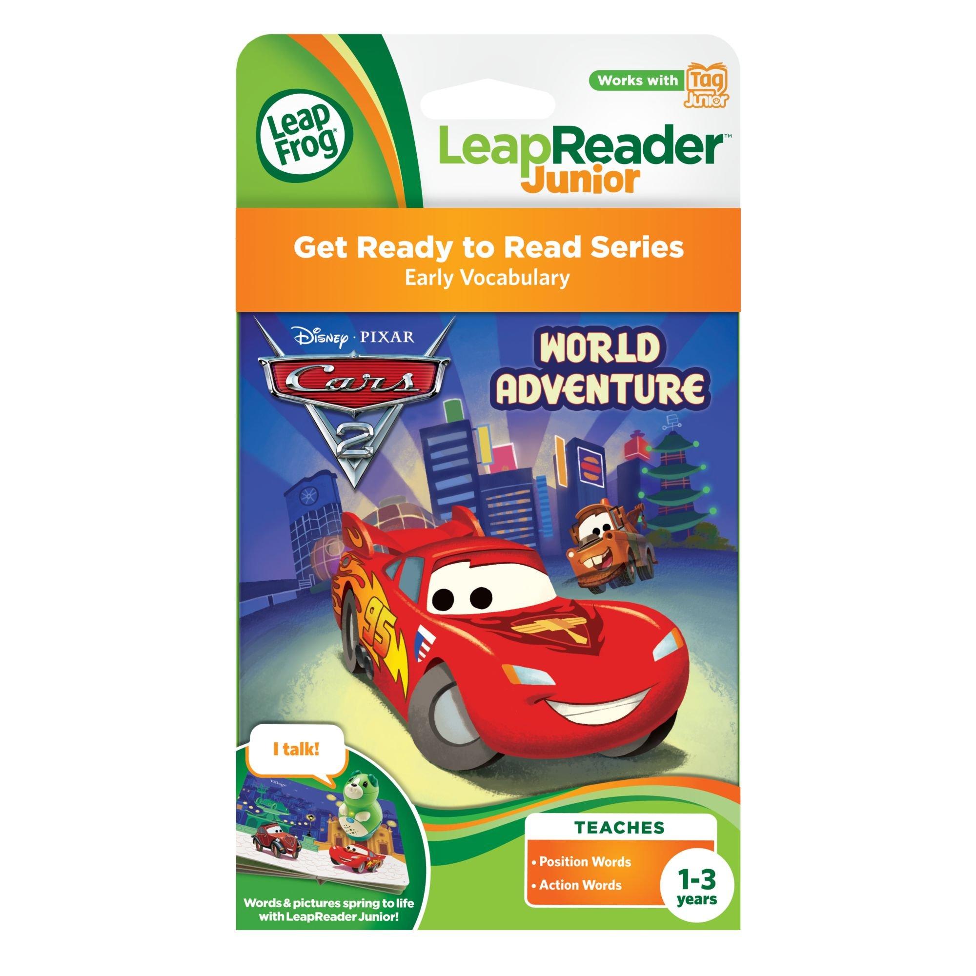 Leapfrog LeapReader Junior Book: DisneyPixar Cars 2: World Adventure (works with Tag Junior) by LeapFrog (Image #3)