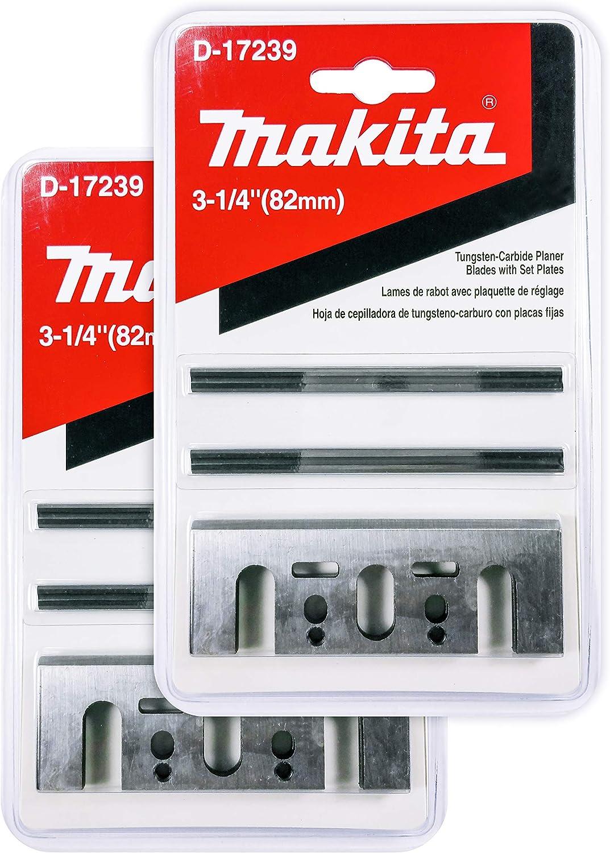 MAKITA 82MM TCT PLANER BLADES for BLACK /& DECKER /& RYOBI TUNGSTEN CARBIDE TIPPED