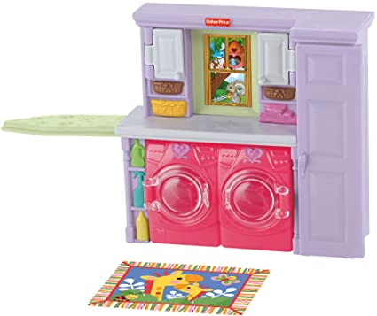 Amazon.com: Fisher-Price Loving Family Laundry Room: Toys & Games