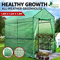 Greenfingers Walk in Replacement Greenhouse Shed with PVC and Transparent PVC