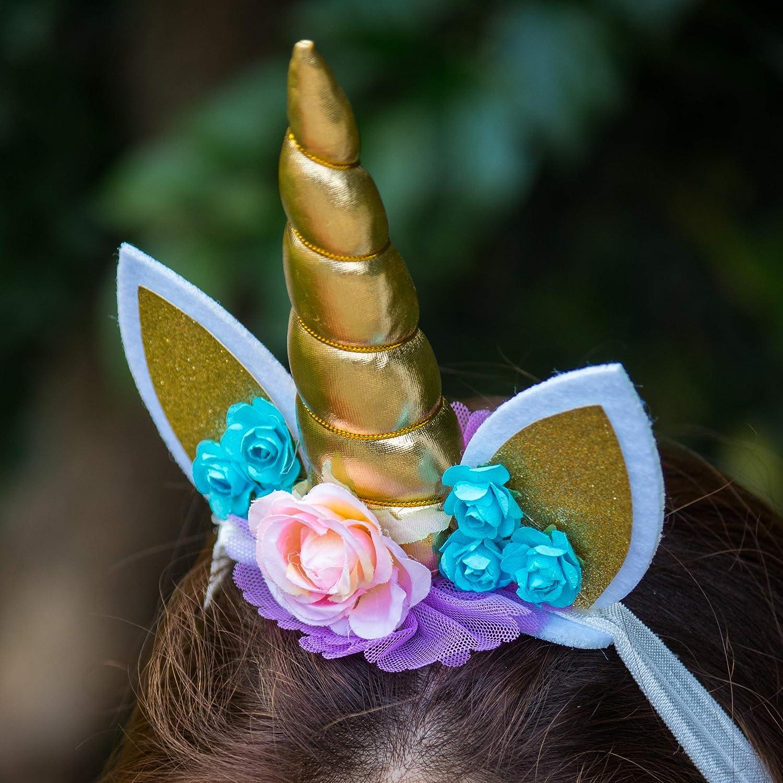 Magische Einhorn Horn Kopf Party Haar Stirnband Kostüm Cosplay Decorati  YRZ8