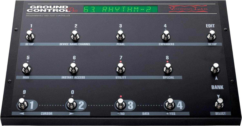 4. Voodoo Lab Ground Control Pro MIDI Foot Controller