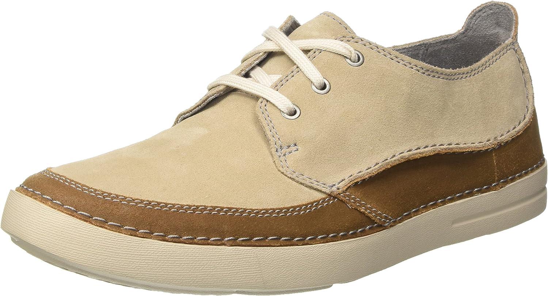 TALLA 41.5 EU. Clarks Gosler Edge, Zapatos de Cordones Derby para Hombre