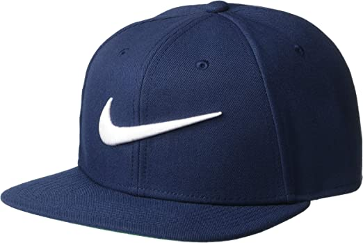 Nike Swoosh Pro-Blue Hat, Hombre, Obsidian/Pine Green/Black/White ...
