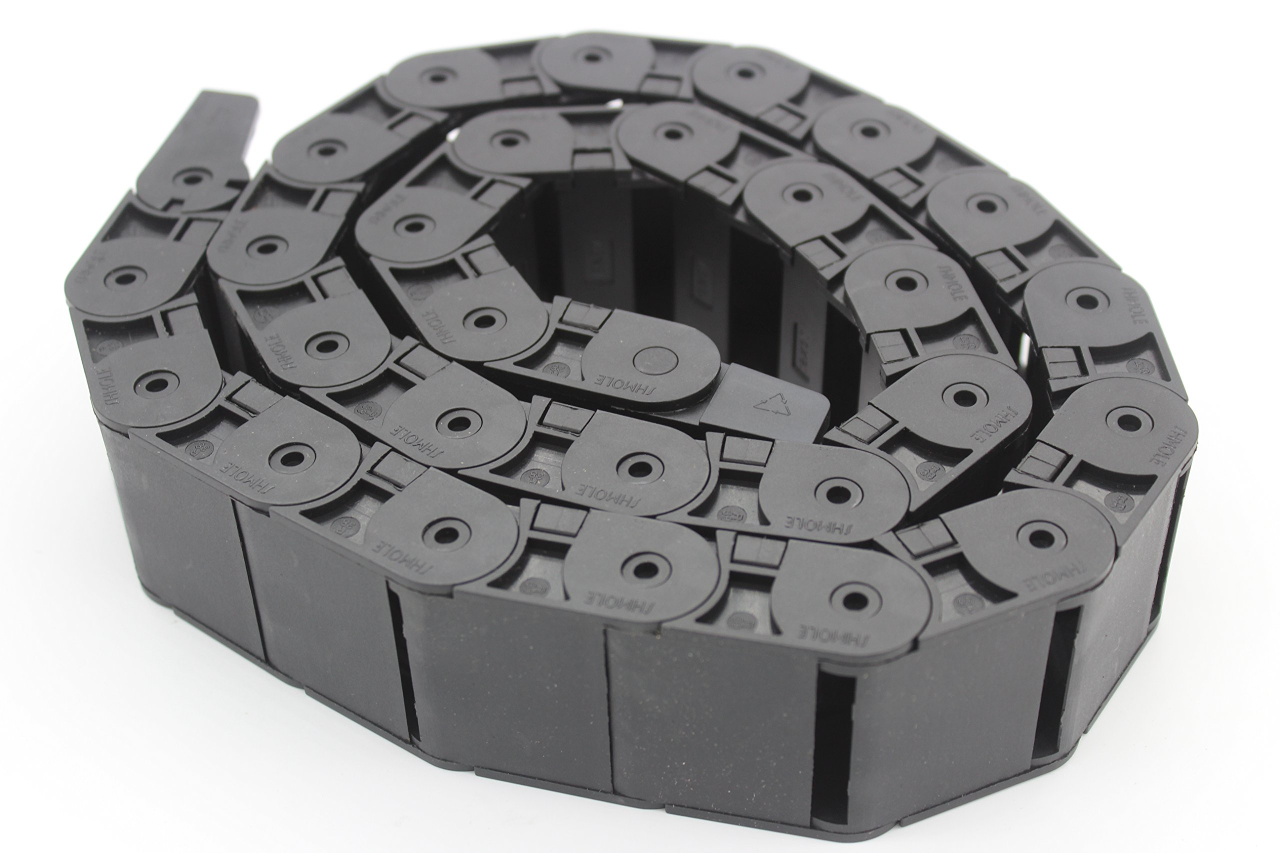 PlasticTowline CNC Machine Tools Cable Carrier Drag Chain (18X37mm)
