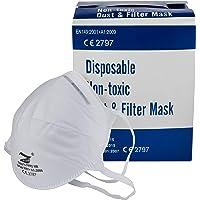 MOONCARE FFP2 zelffilterend masker, hoofd, [pak 20 stuks], [niet herbruikbaar], gecertificeerd/goedgekeurd, goedgekeurd…