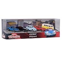 Smoby Majorette - 212052013 - Vehicule Miniature - Vintage Giftpack 5 Pièces - Echelle 1/64ème