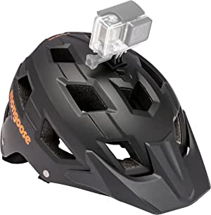 Mongoose Capture Bike Helmet with Go Pro Camera Mount, Adult and Youth Options