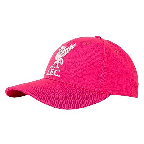 Liverpool FC LFC señoras rosa Gorra original diseño de equipo ...