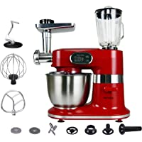 Aifeel Kitchen Stand Mixer Electric 1000W 5-Speed Setting Electric Tilt-Head Food Mixers Meat Grinder Dough Blender…