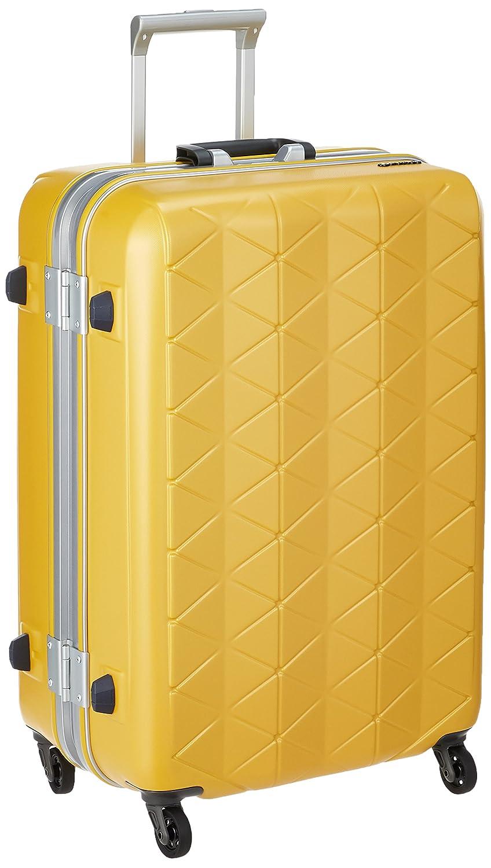 [サンコー] SUPER LIGHTS MGC スーツケース スーパーライト 73L 軽量 中型 抗菌ハンドル マグネシウムフレーム 大容量 73L 63cm 3.8kg MGC1-63 B07BRRGKJPエンボスイエロー