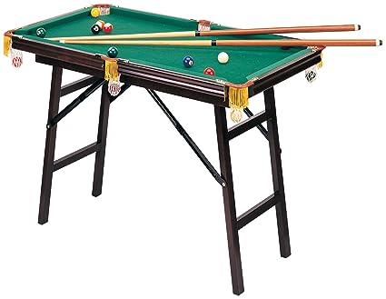 Amazoncom Mini Folding Pool Table Toys Games - Hathaway portable pool table