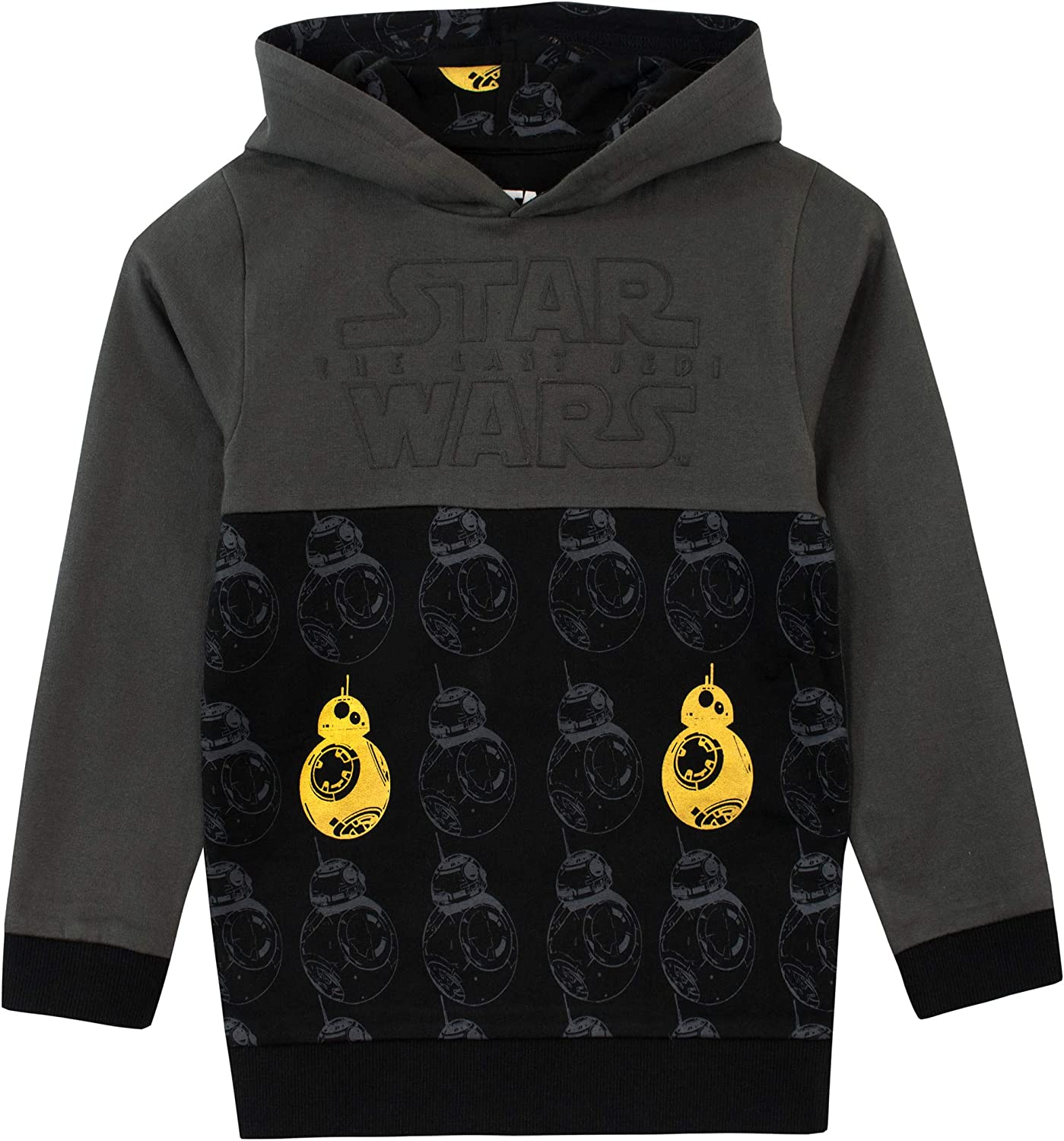 Sweat Shirt /à Capuche Star Wars Gar/çon