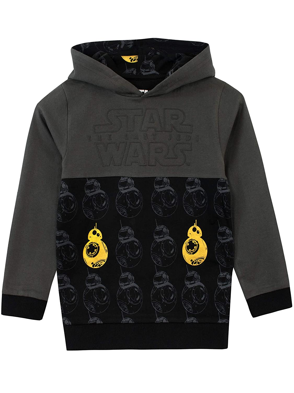Star Wars Ragazzi BB8 Felpe con cappuccio
