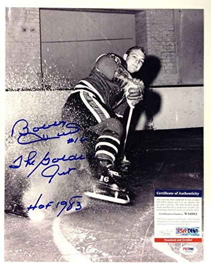 32acb3f86c1 Autographed Bobby Hull Picture - 11x14 W56982 - PSA DNA Certified at ...