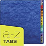 Pendaflex Daily A-Z Indexing Midnight Blue Desk