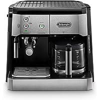 De'Longhi Kombi kahve makinesi BCO 421.S – Espresso süzgeçli ve filtre kahve fonksiyonlu kahve makinesi, süt köpürtme…