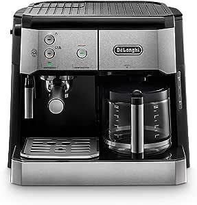 DeLonghi BCO 421.S cafetera automatica, 1750 W, 1 Liter, Acero Inoxidable: Amazon.es: Hogar