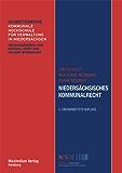 Niedersächsisches Kommunalrecht (Schriftenreihe Kommunale Hochschule für Verwaltung in Niedersachsen 3)
