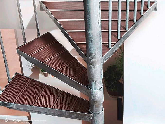 Exterior de escalera de acero escaleras Intercon K2 Wood Edition MyGarden de diámetro 120/140/160/180/200 cm: Amazon.es: Bricolaje y herramientas